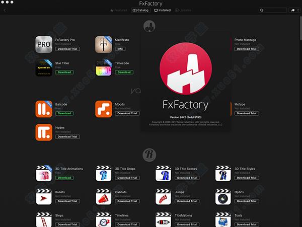 fxfactory pro 6 crack mac