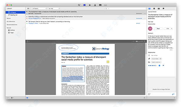 papers for mac papers 3 for mac 破解版下载(附使用教程) v3
