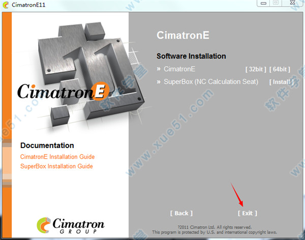Cimatron e11永久破解版|Cimatron e11中文永久破解版下载- 软件学堂