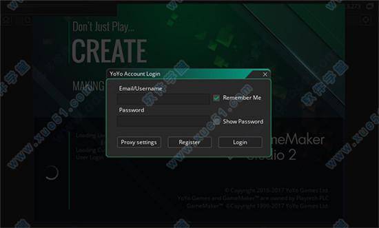 game maker studio 2 crack password
